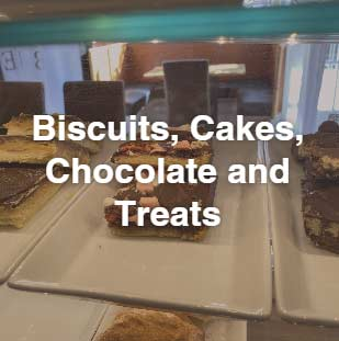 Biscuits, Cakes, Chocolate and Treats